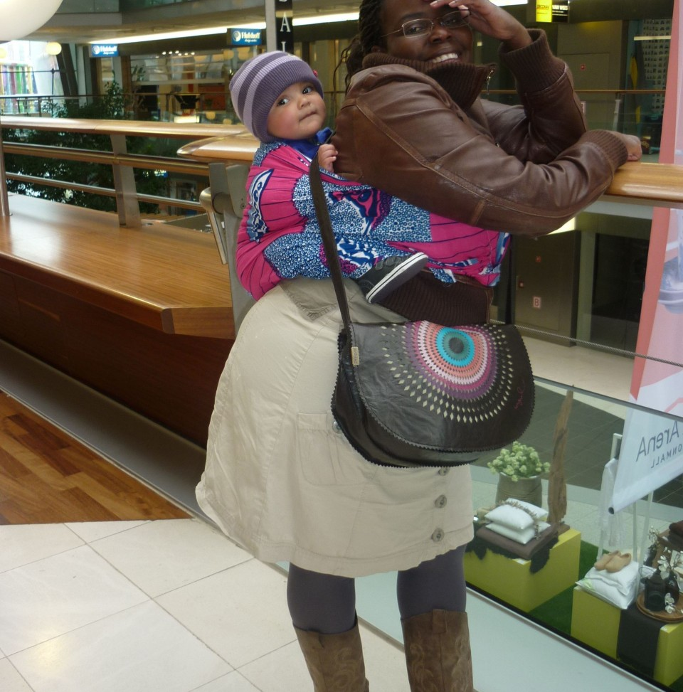 Torsobabywearing during winter time